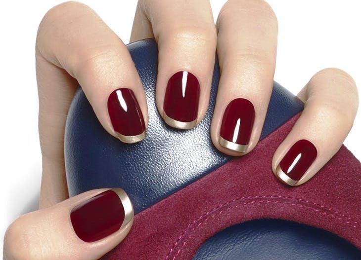 Reinventando las uñas francesitas