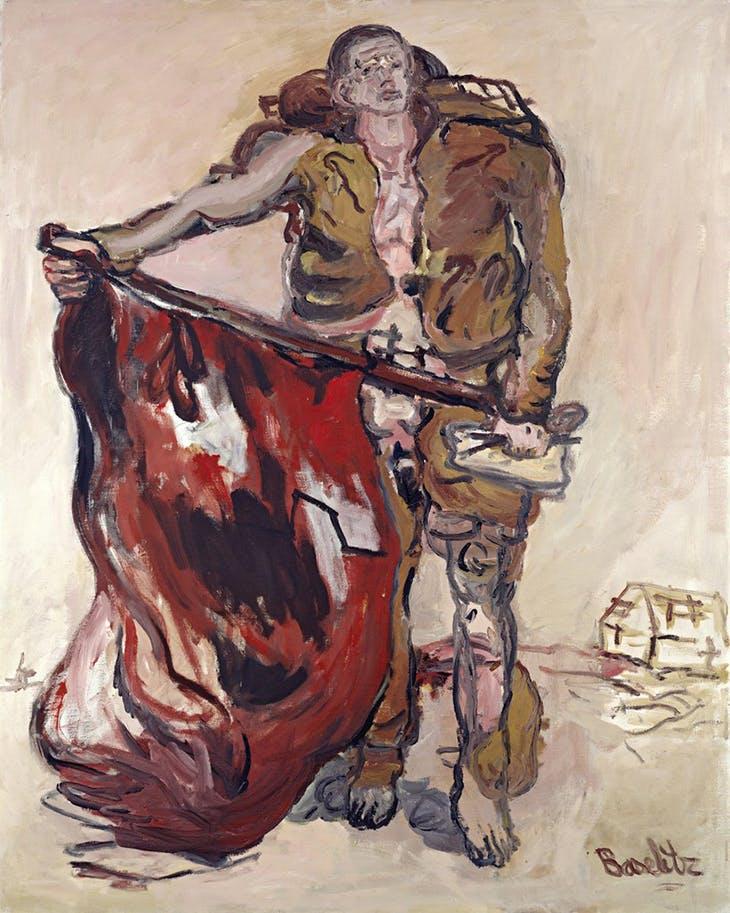 'Georg Baselitz. Los héroes', contradicción y arte en el Guggenheim