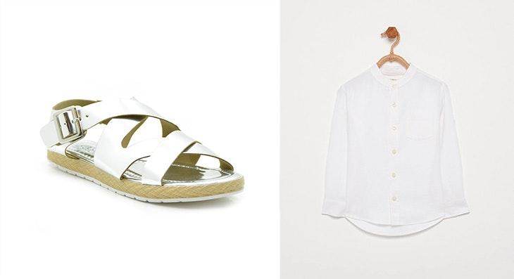 3 looks con sandalias romanas para ir chic y cómoda en verano