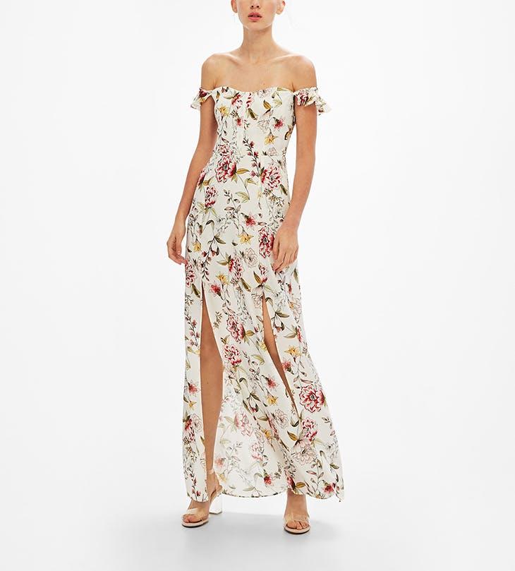 Un vestido largo para cualquier ocasión