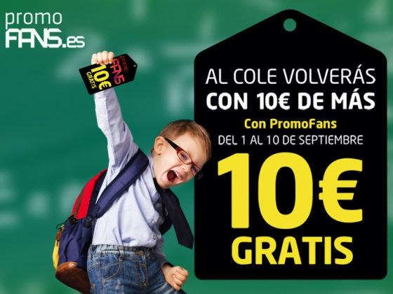 Al cole volverás con 10€ de más gracias a Max Center