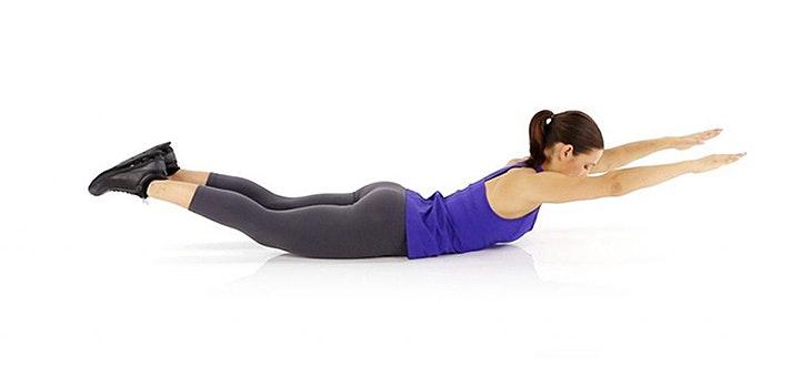 Toma nota de estos 4 ejercicios para fortalecer la espalda
