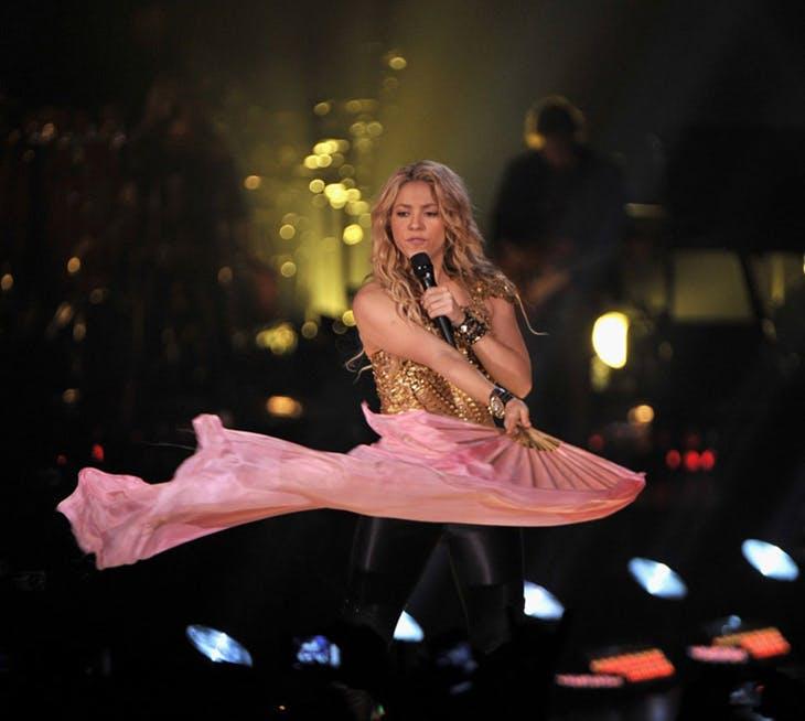 Shakira en el BEC