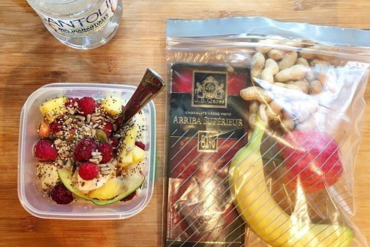 Desayuno, comida, saludable, healthy