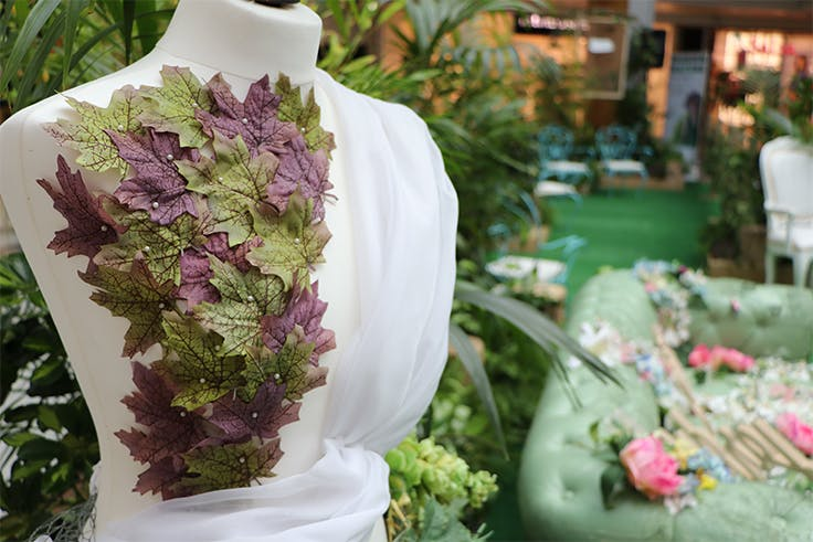 jardín, decoración, moda