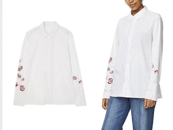 Cómo combinar tu camisa blanca de una forma diferente