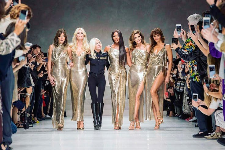 Versace, moda, pasarela, tendencias