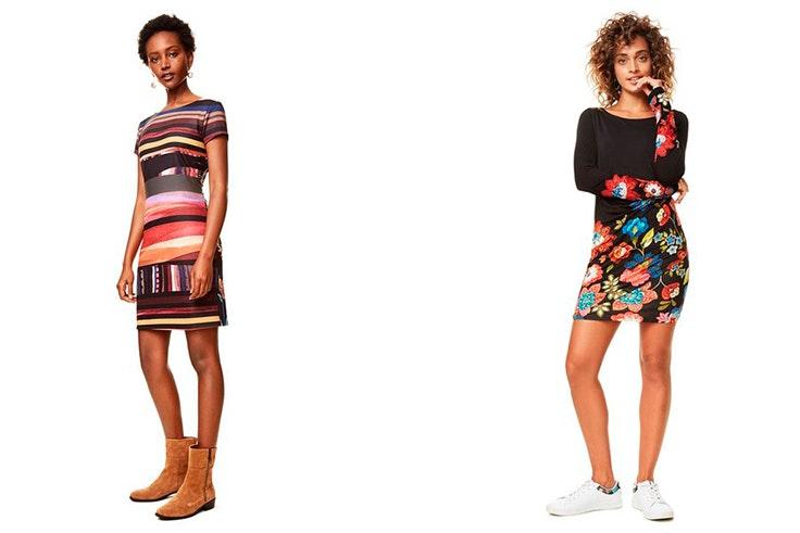 Vestido, moda, otoño