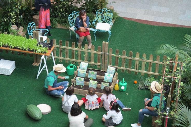 Talleres, infantiles, actividades, niños, jardín