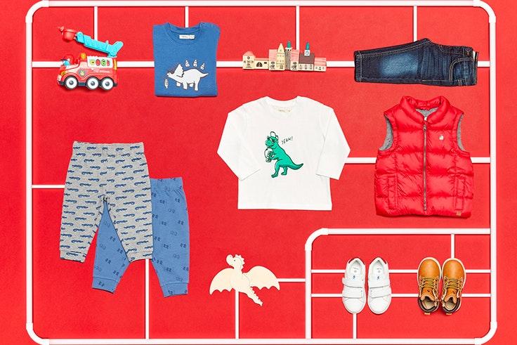 Look, infantil, Sfera, moda, otoño