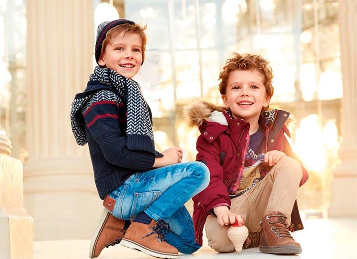 Moda infantil de otoño tendencias, otoño
