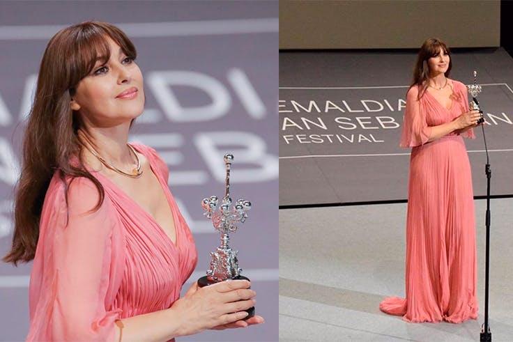 Monica Bellucci, cine, San Sebastián, premio
