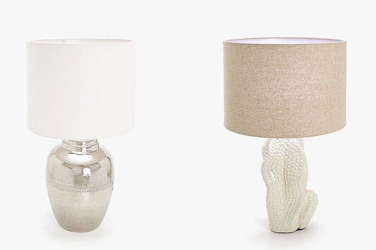 Lámparas de Zara Home (99,99 €).