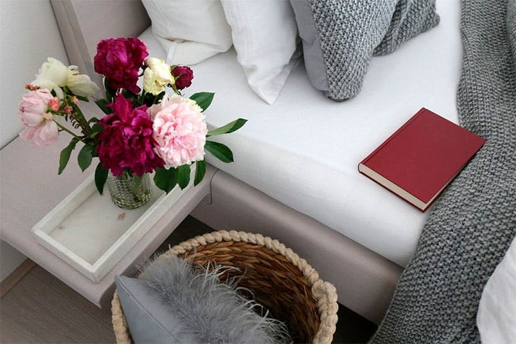 Colores cálidos y claros son los idóneos para la decoración hygge.