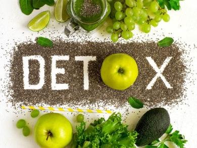 Dieta détox para purificar tu organismo.