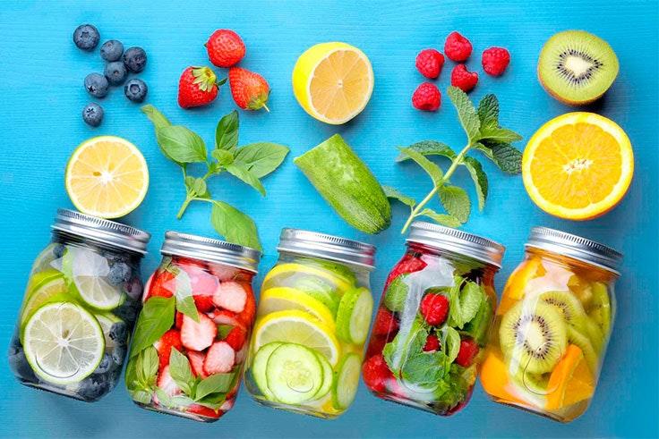 Comer más cantidad de fruta sirve para purificar nuestro organismo.
