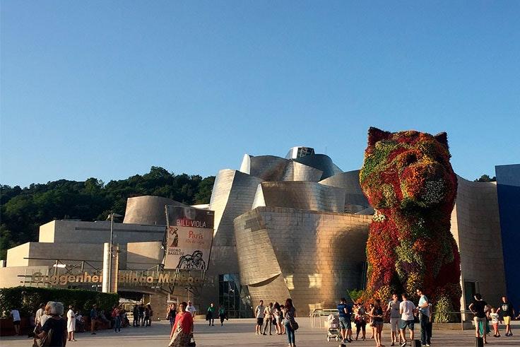 El Museo Guggenheim celebra 20 años desde su apertura.