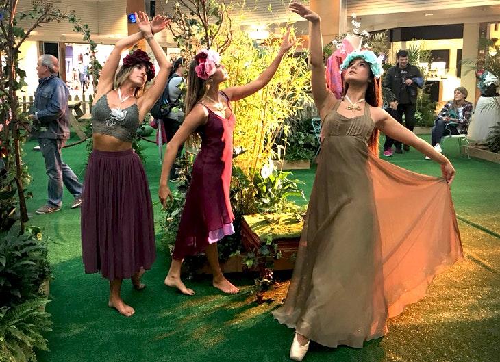 experiencia fashion nature con las hadas mágicas