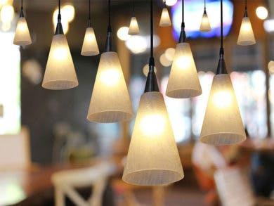 decoración con iluminación para casa