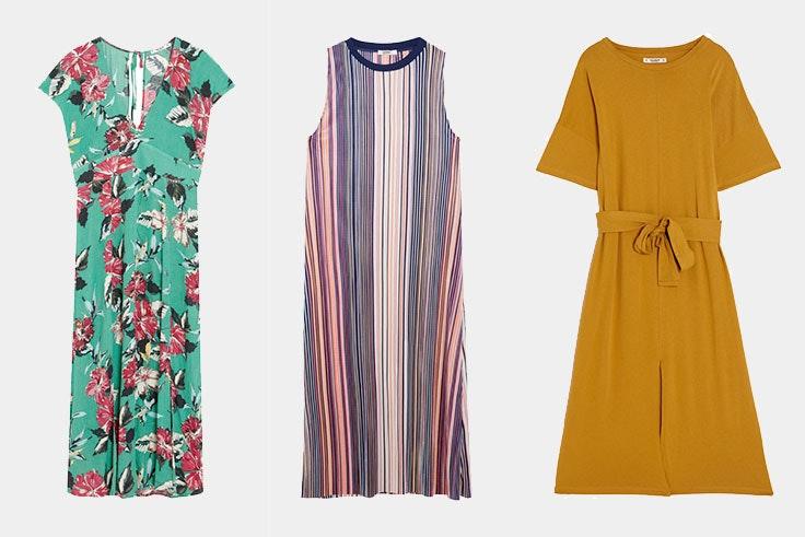 vestidos midi verano