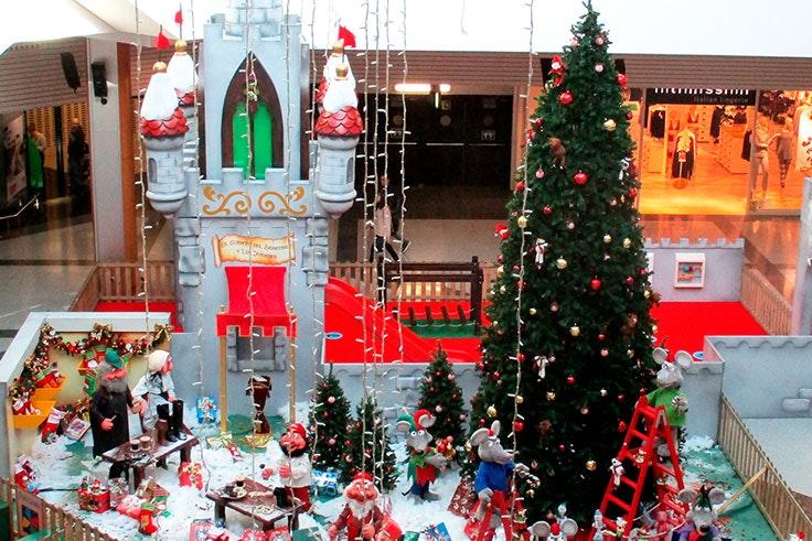 decoración navidad max center