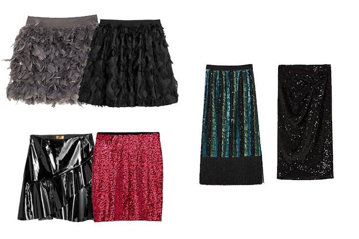 faldas para nochebuena