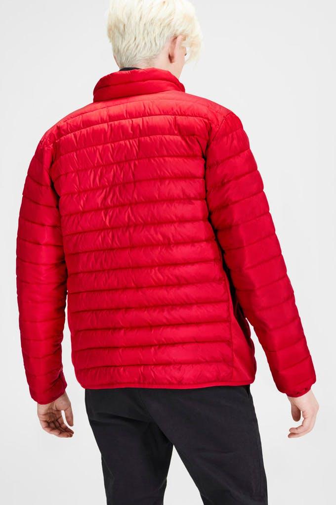 chaqueta acolchada de hombre
