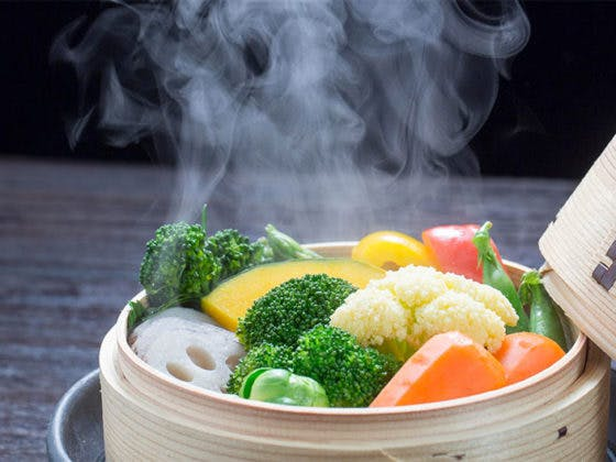 cocina al vapor