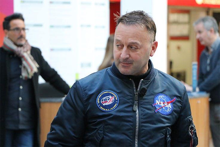 Josu Feijoo, astronauta vasco