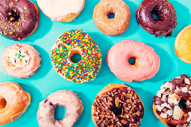 donuts loops coffee