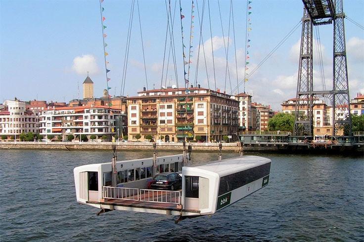 transbordador puente colgante