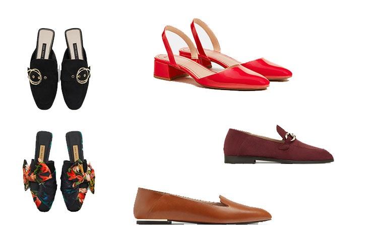 tendencia zapatos planos