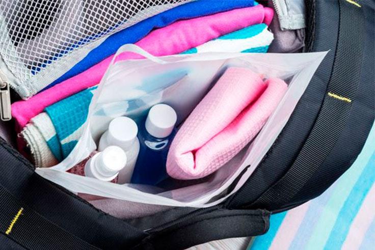 articulos liquidos maleta
