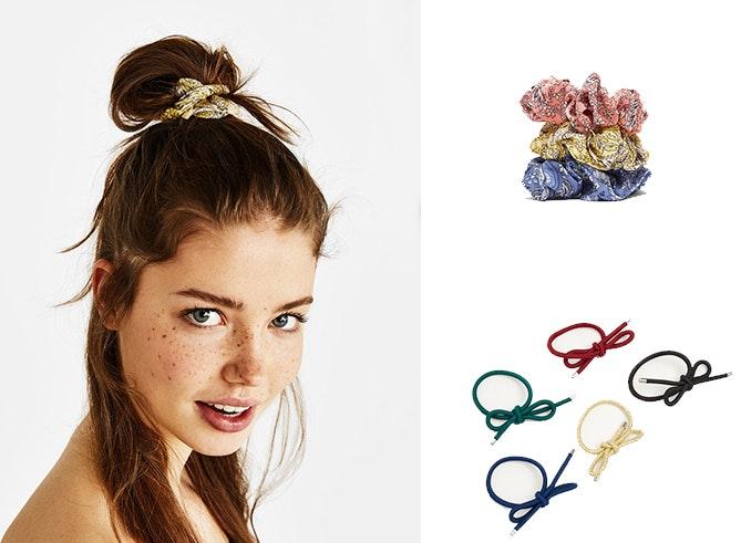 Accesorios para el pelo: coleteros