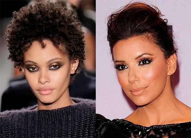 maquillaje metalicos para ojos marrones