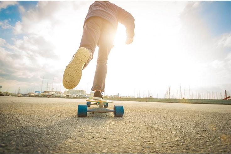 patinar al aire libre