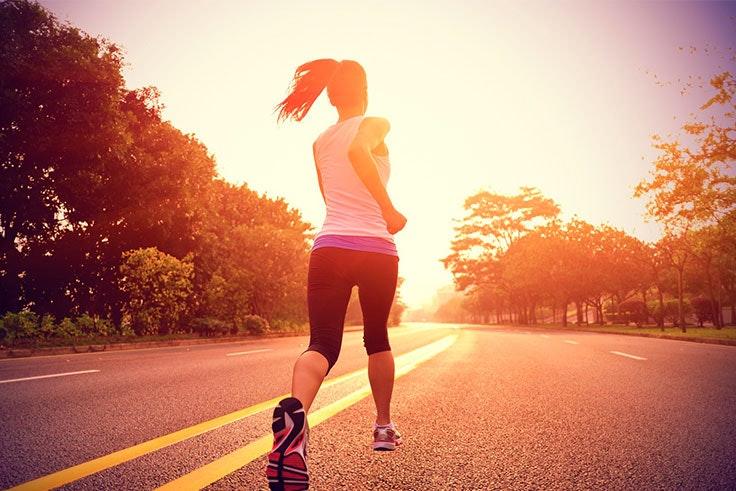 running al aire libre