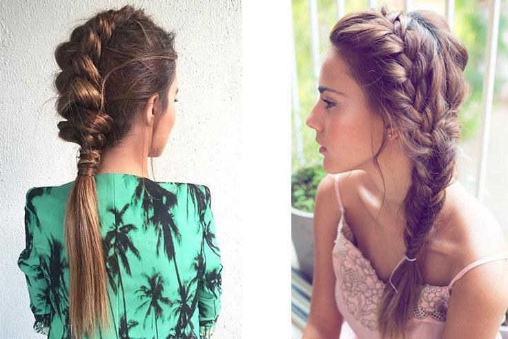 Peinados de boda 2019 fotos ideas y estilos - Peinados elegantes para una boda ...
