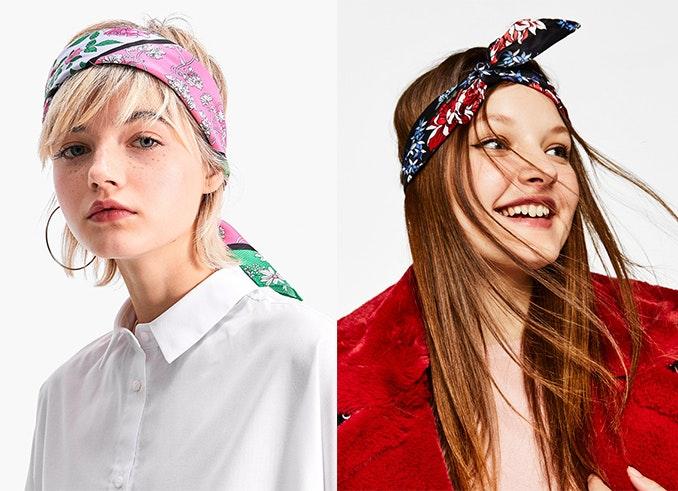 pañuelo como accesorio para el pelo