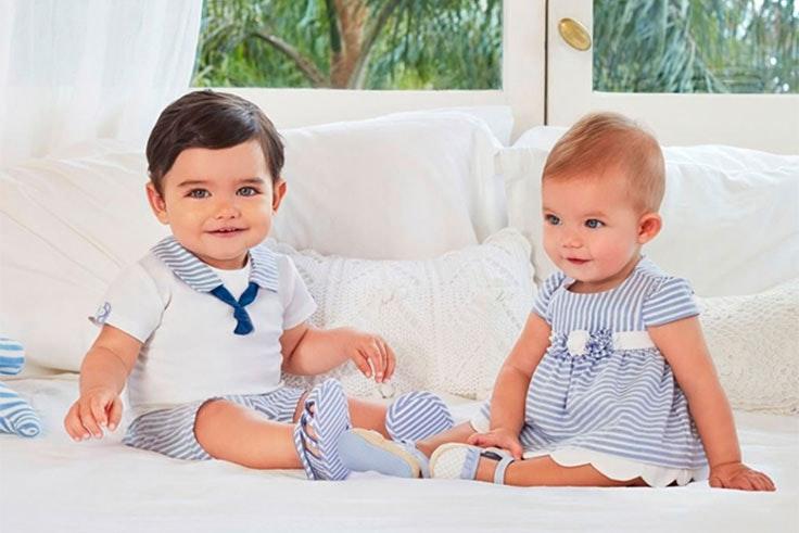 vestidos para bebé