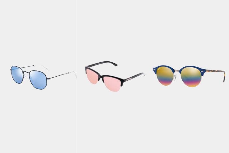 gafas con cristal de colores