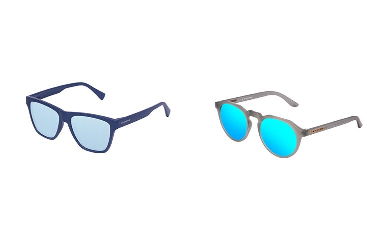 Gafas de Soloptical: Hawkers navy blue (25€)/Hawkers frozen grey (23€)