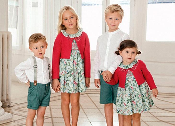 vestidos para niños 2018