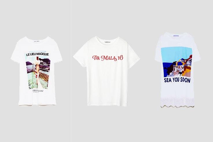 camisetas con mensajes verano