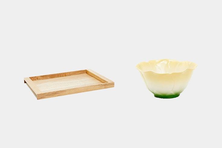 combinación de materiales para la mesa