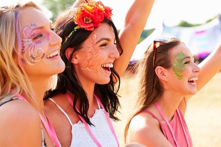 maquillaje festivales