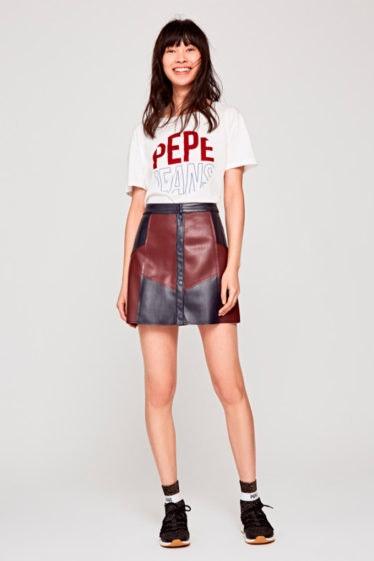 minifalda pepe jeans