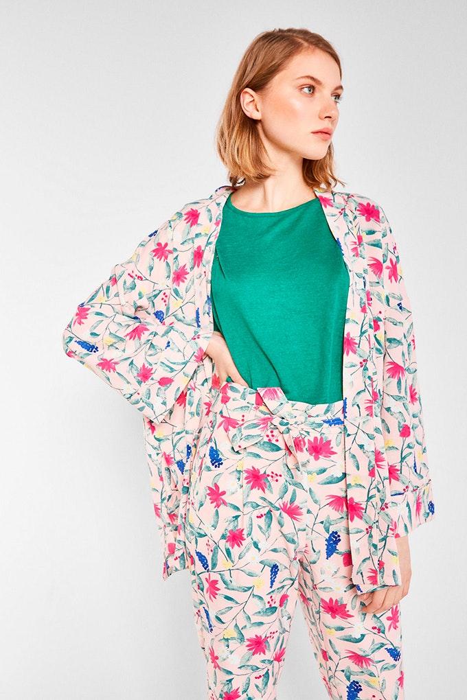 kimono floral