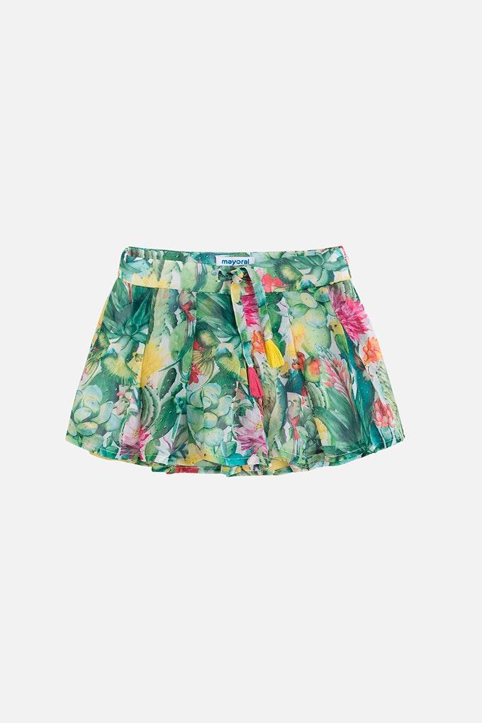 falda pantalon niña