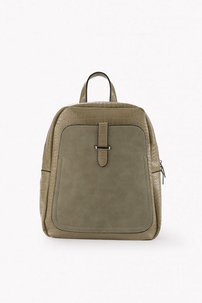 mochila verde